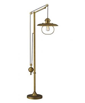 Dimond 65101 1 15 By 69 Inch Farmhouse 1 Light Floor Lamp Antique Brass Finish 0 300x360