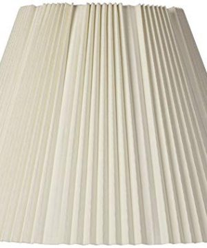 Eggshell Pleated Lamp Shade 9x17x1225 Spider Brentwood 0 300x360