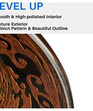 Enbol GS G0440 Retro Copper Brown Color Artistic Tempered Glass Bathroom Over Counter Artistic Vessel Vanity Sink Bowl 165 Inch Standard Round Top Wash Basin 0 3 300x360