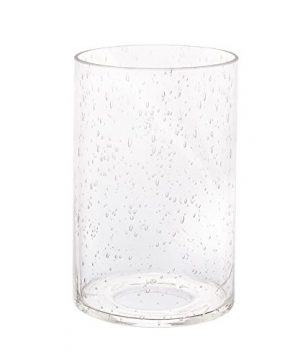 Eumyviv A00001 Cylinder With Bottom Clear Bubble Glass Lamp Shade 0 300x360