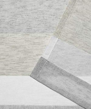 Exclusive Home Bern Stripe Sheer Rod Pocket Curtain Panel Pair Dove Grey 50x96 0 2 300x360
