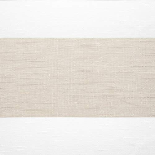 Exclusive Home Darma Sheer Linen Rod Pocket Curtain Panel Pair Linen 50x96 0 0