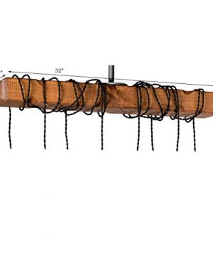 Farmhouse Lighting Wrapped Wood Beam Farmhouse Chandelier Pendant Light Fixture Rustic Lighting Great For Kitchen Island Lighting Dining Room Bar Industrial And Billiard Or Pool Table 0 3 300x360