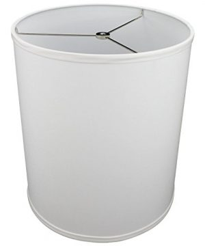 FenchelShadescom-12-Top-Diameter-x-12-Bottom-Diameter-14-Height-Cylinder-Drum-Lampshade-USA-Made-White-0