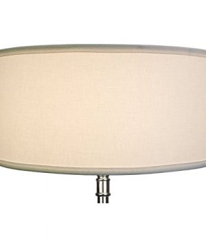 FenchelShadescom 17 Top Diameter X 17 Bottom Diameter 8 Height Cylinder Drum Lampshade USA Made White 0 1 300x360