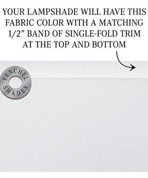 FenchelShadescom 18 Top Diameter X 18 Bottom Diameter 12 Height Cylinder Drum Lampshade USA Made White 0 2 300x360