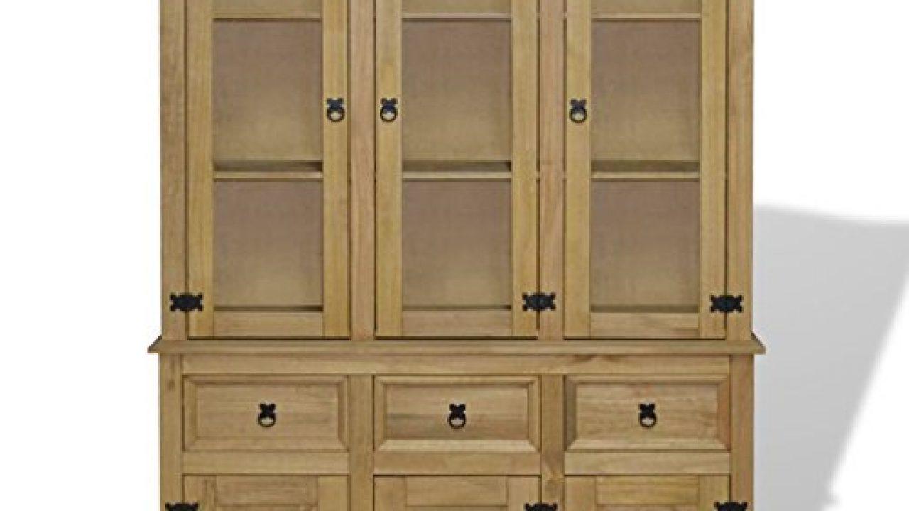 Modern Rustic Mid Century Buffet Sideboard Storage Cabinet Dining Room Server