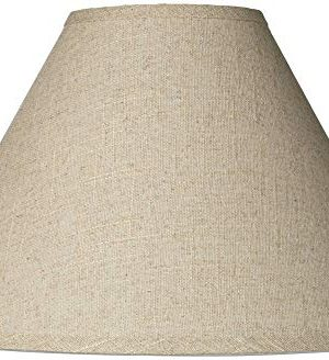 Fine Burlap Empire Shade 6x17x115 Spider Brentwood 0 300x328