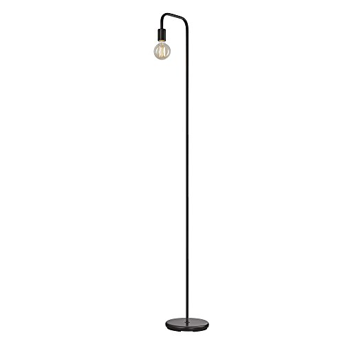 Globe Electric Holden 70 Floor Lamp Black In Line OnOff Foot Switch 12937 0
