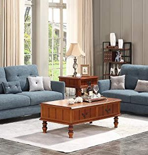 HONBAY 2 Piece Sofa And Loveseat Set For Living Room Furniture Sets Dark Grey 0 300x313