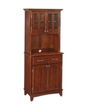 Home Styles 5001 0072 72 Buffet Of Buffet 5001 Series Medium Cherry Wood Top Buffet Server And Hutch Medium Cherry 29 14 Inch 0 300x360