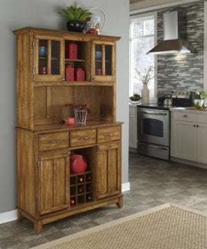 Home Styles 5100 0066 62 Buffet Of Buffets Cottage Oak Wood With Hutch Cottage Oak Finish 41 34 Inch 0 0 300x360