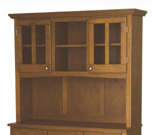 Home Styles 5100 0066 62 Buffet Of Buffets Cottage Oak Wood With Hutch Cottage Oak Finish 41 34 Inch 0 1