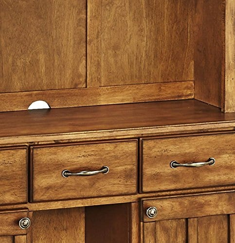 Home Styles 5100 0066 62 Buffet Of Buffets Cottage Oak Wood With Hutch Cottage Oak Finish 41 34 Inch 0 2