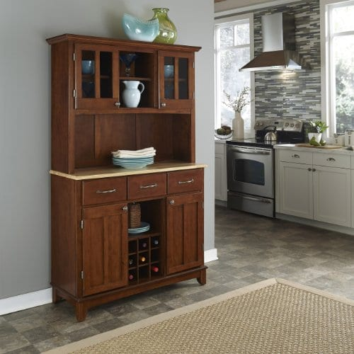 Home Styles 5100 0071 72 Buffet Of Buffets Natural Wood With Hutch Cherry Finish 41 34 Inch 0 0