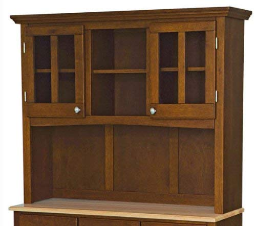 Home Styles 5100 0071 72 Buffet Of Buffets Natural Wood With Hutch Cherry Finish 41 34 Inch 0 1