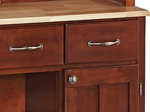 Home Styles 5100 0071 72 Buffet Of Buffets Natural Wood With Hutch Cherry Finish 41 34 Inch 0 2