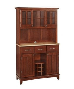 Home Styles 5100 0071 72 Buffet Of Buffets Natural Wood With Hutch Cherry Finish 41 34 Inch 0 300x360