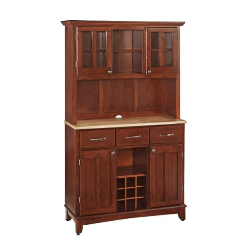Home Styles 5100 0071 72 Buffet Of Buffets Natural Wood With Hutch Cherry Finish 41 34 Inch 0