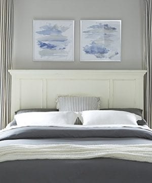 Home Styles 5427 601 Dover King Headboard Antique White 0 0 300x360