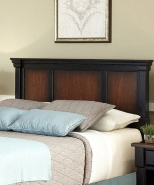 Home Styles The Aspen Collection Headboard FullQueen Rustic CherryBlack 0 300x360