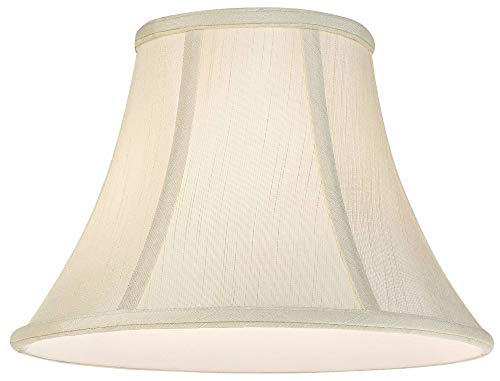 Imperial Collection Creme Bell Lamp Shade 6x12x9 Spider Imperial Shade 0 2