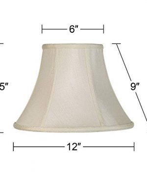 Imperial Collection Creme Bell Lamp Shade 6x12x9 Spider Imperial Shade 0 3 300x360