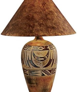 Indian Marigold Handcrafted Southwest Table Lamp 0 300x360