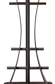 Jewel Tone Mission Table Lamp Iron Bronze Geometric Stained Glass Art Shade For Living Room Family Bedroom Bedside Robert Louis Tiffany 0 2 233x360