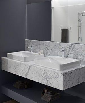 KOHLER K 2660 1 0 Vox Rectangle Vessel Bathroom Sink White 0 2 300x360