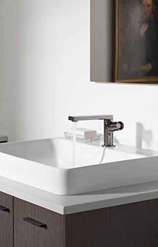 KOHLER K 2660 1 0 Vox Rectangle Vessel Bathroom Sink White 0 3