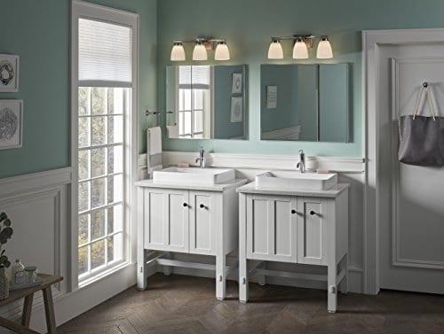 KOHLER K 2660 1 0 Vox Rectangle Vessel Bathroom Sink White 0 4