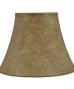 Urbanest Softback Bell Lamp Shade Faux Leather 5 Inch By 9 Inch By 7 Inch Spider Fitter 0 300x360