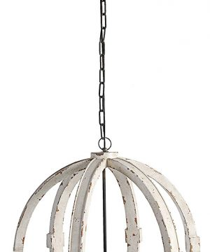 AB Home Calder Wooden Chandelier