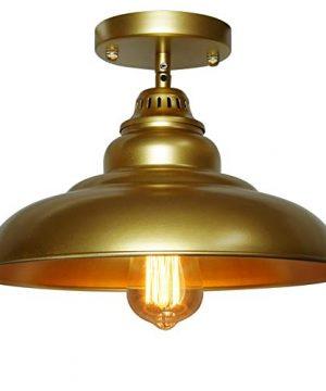 Barn Pendant Lights FINXIN 1 Light Hanging Light For Kitchen Dining Table FXPL03 Gold 12 Ceiling Dome Pendant Lighting E26 Base 0 0 300x360