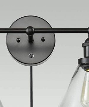 CLAXY Ecopower Lighting Mordern Glass Metal 3 Lights Wall Sconce 0 3 300x360
