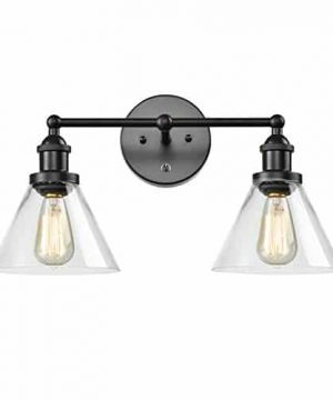 CLAXY Ecopower Lighting Mordern Glass Metal 3 Lights Wall Sconce 0 300x360