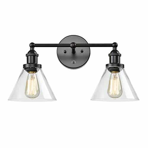 CLAXY Ecopower Lighting Mordern Glass Metal 3 Lights Wall Sconce 0