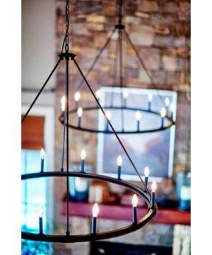 Capital Lighting 4912BI 000 12 Light Chandelier 0 1 300x360