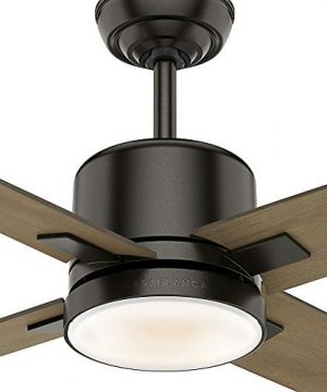 Casablanca 59341 Axial Ceiling Fan Casablanca Light With Wall Control 52 Noble Bronze 0 4 300x360