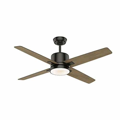 Casablanca 59341 Axial Ceiling Fan Casablanca Light With Wall Control 52 Noble Bronze 0