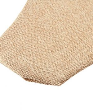 DECORA 215 Inch Natural Jute Burlap Christmas Stocking Fireplace Hanging For Gifts Goodies Handmade Projects Set Of 6 0 2 300x360