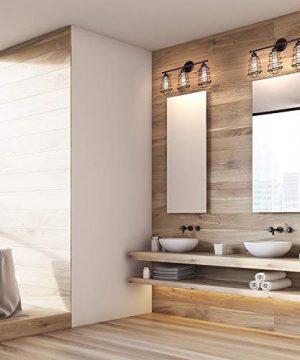 Design House 519736 Ajax 3 Light Vanity Light Bronze 0 300x360