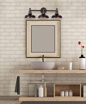 Design House 520320 Kimball 3 Vanity Light Coffee Bronze 0 300x360