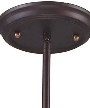 Elk 150331 Barringer 1 Light Mini Pendant And Tan Mica Shade 0 5 300x360