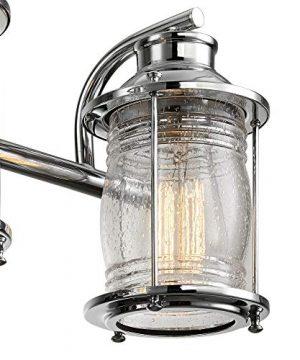 Globe Electric 51272 Bayfield 3 Vanity Light Chrome With Seeded Glass 0 0 300x360