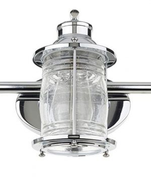 Globe Electric 51272 Bayfield 3 Vanity Light Chrome With Seeded Glass 0 2 300x360
