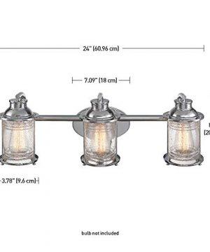 Globe Electric 51272 Bayfield 3 Vanity Light Chrome With Seeded Glass 0 3 300x360