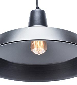 Globe Electric 65155 Barnyard 1 Light Pendant Matte Black 0 0 300x333
