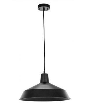 Globe Electric 65155 Barnyard 1 Light Pendant Matte Black 0 300x360